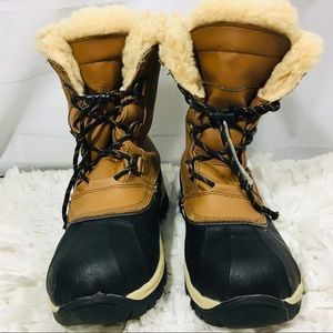 Bearpaw Kelly Youth Winter Boots Hickory  5